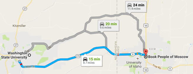 Directions From Washington State University